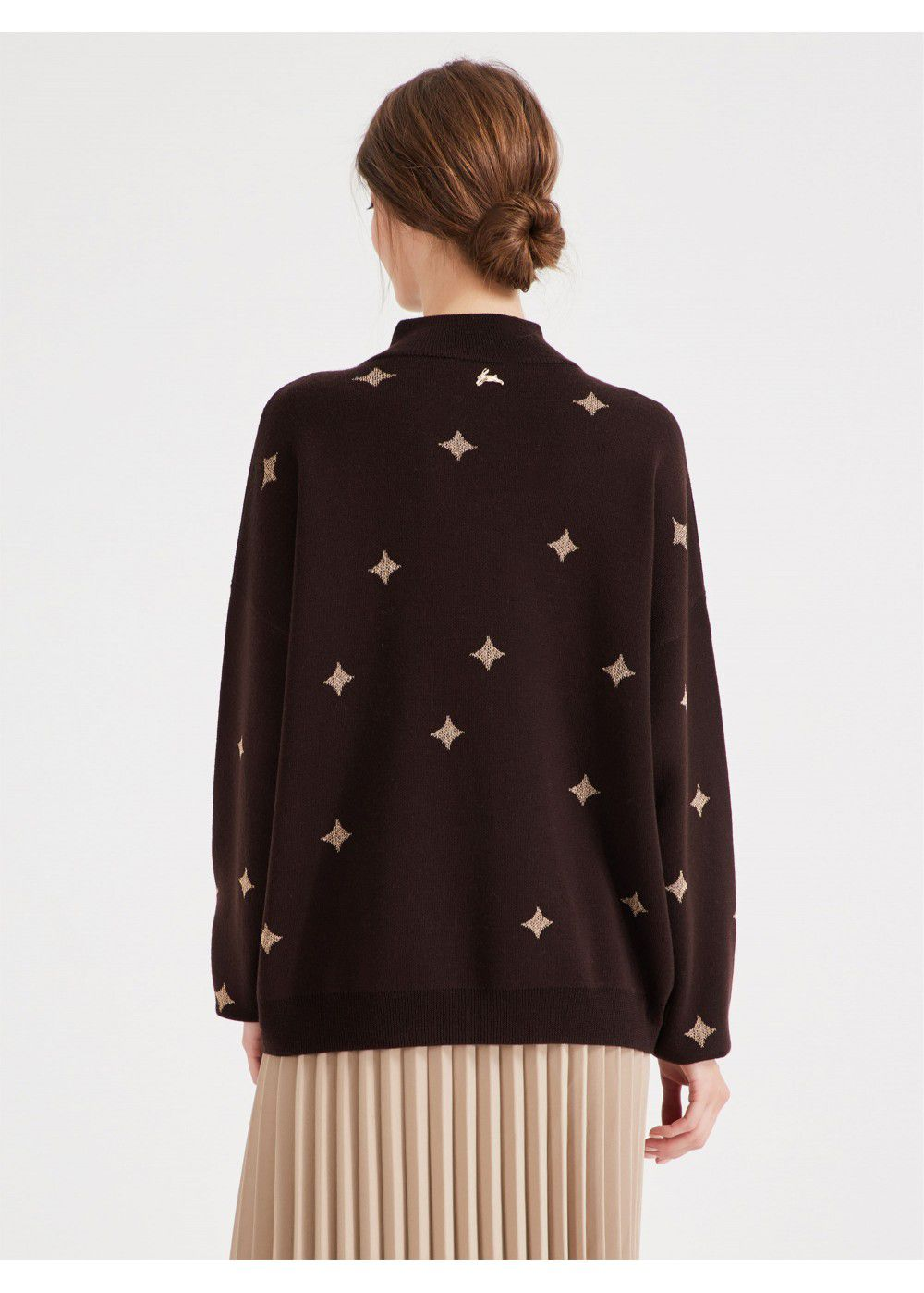 Akhmadullina Dreams Brown Jumper