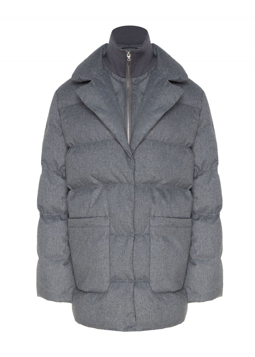 Akhmadullina Dreams Grey Down Jacket