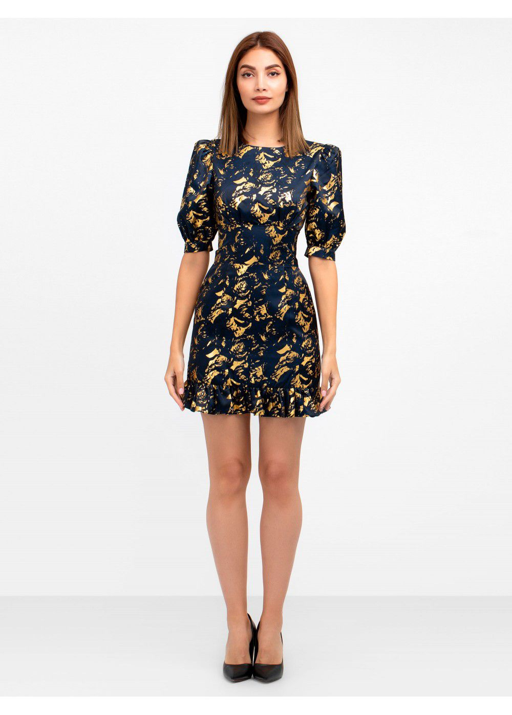 Misha Collection Havannah Printed Mini Dress