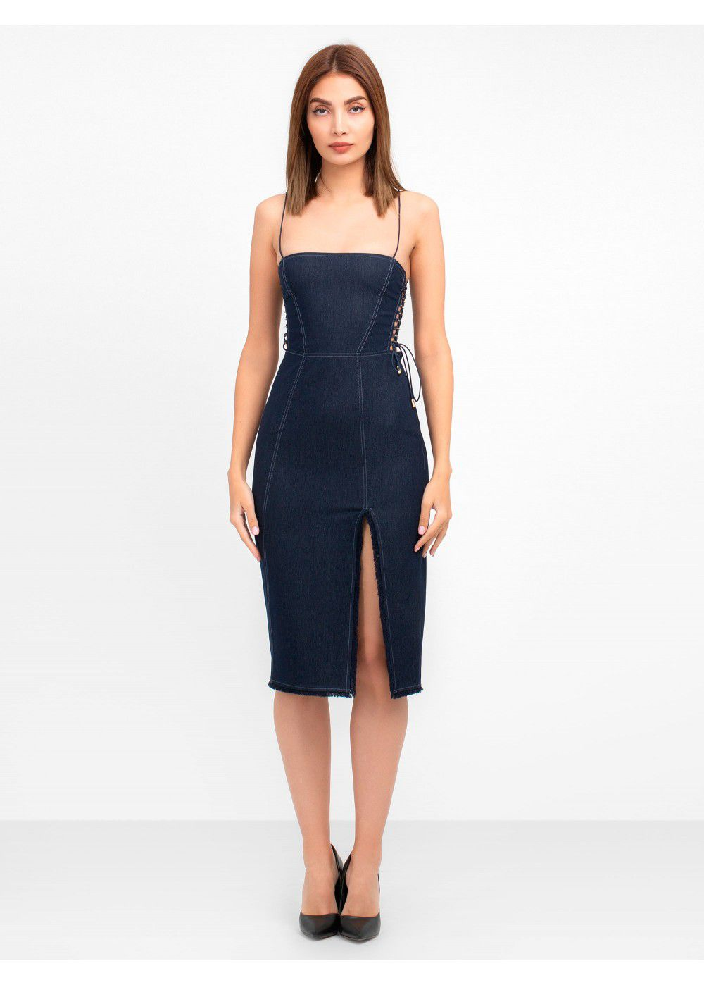 Misha Collection Iris Denim Dress