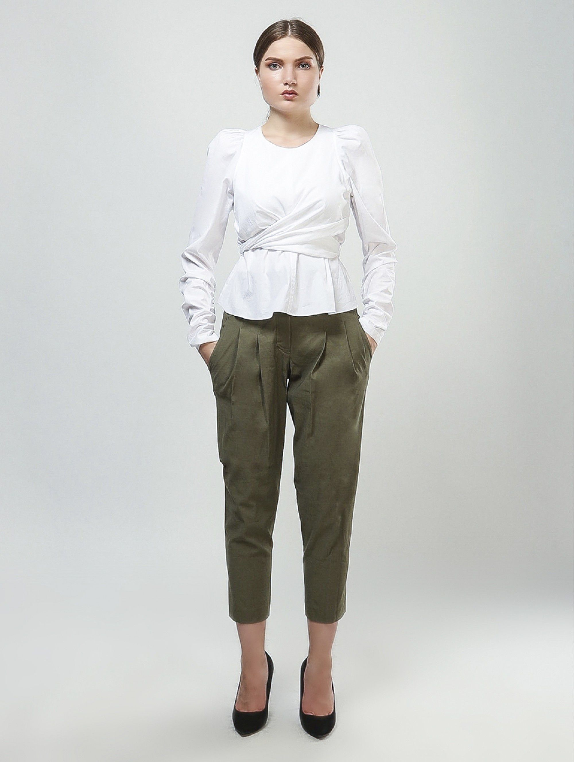 A.L.C. Short Khaki Pants