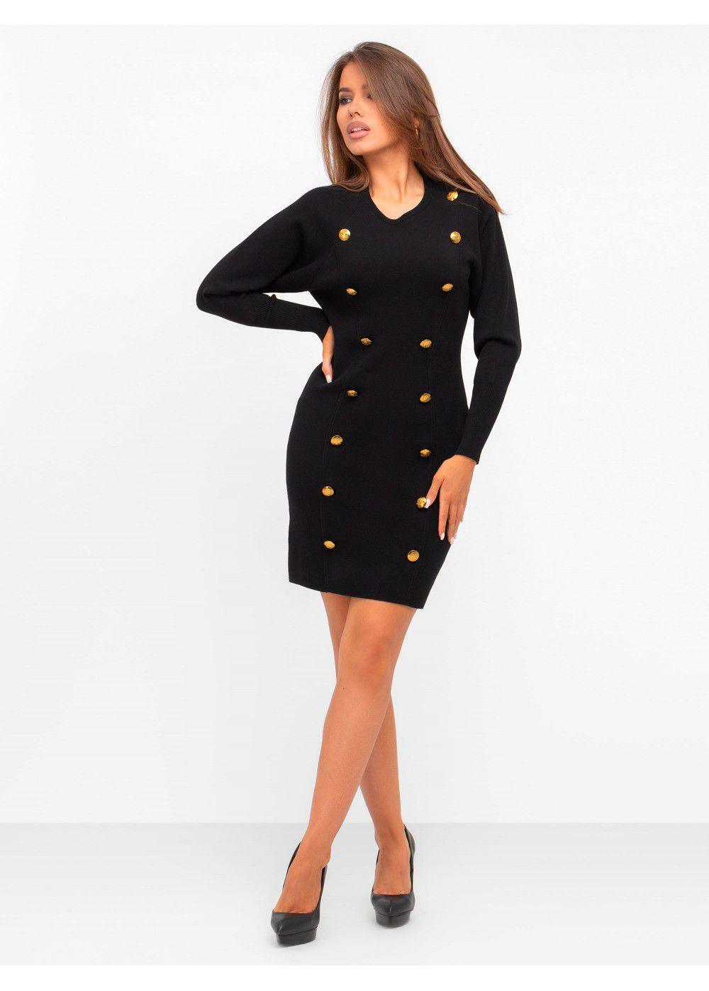 A.L.C. Black Mini Dress