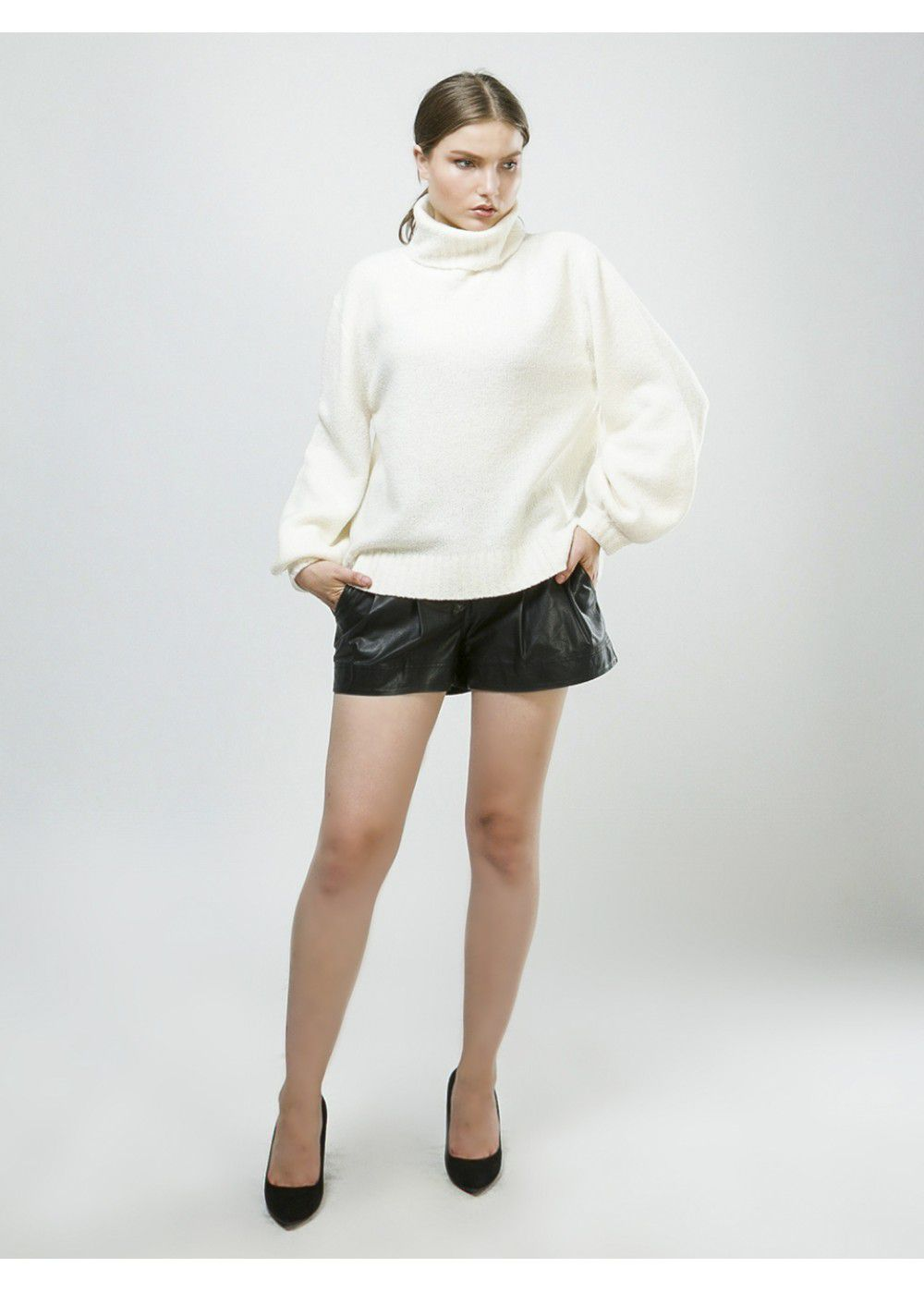 A.L.C. Brinkley Sweater in White