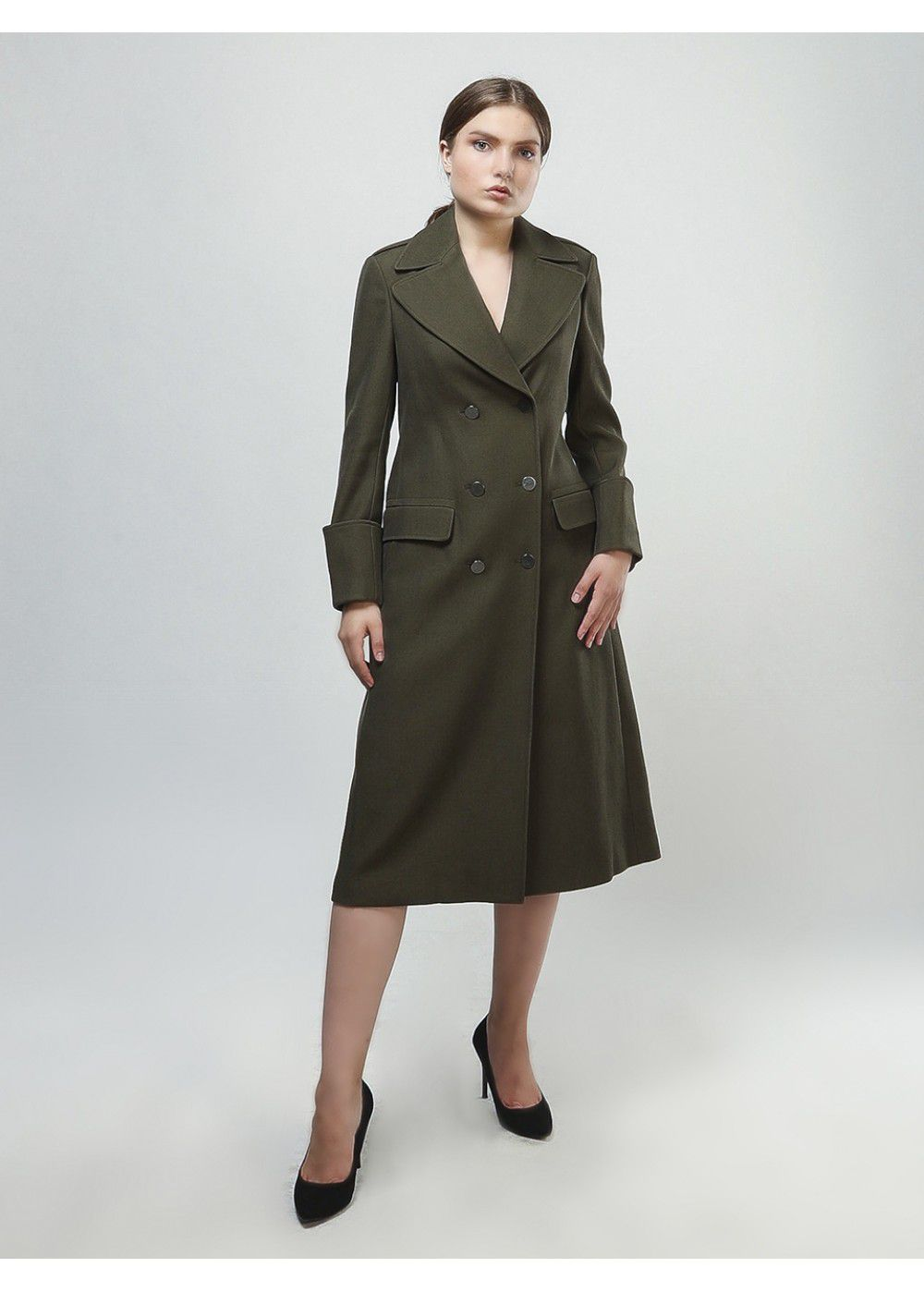 A.L.C. Virgin Wool Blend Coat