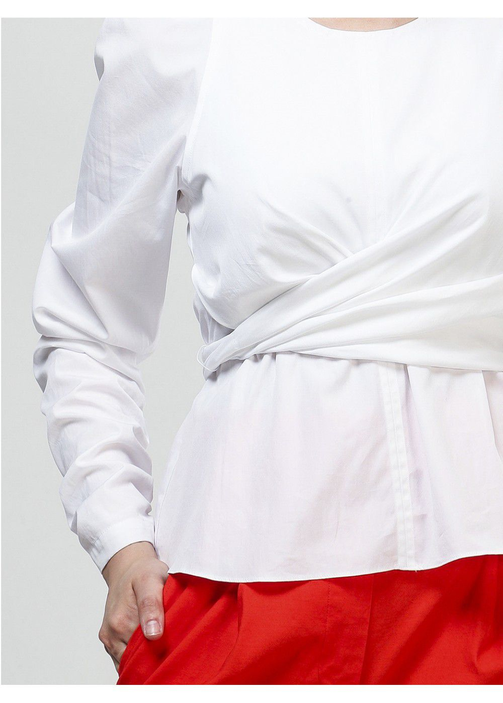 A.L.C. Wrap Shirt in White
