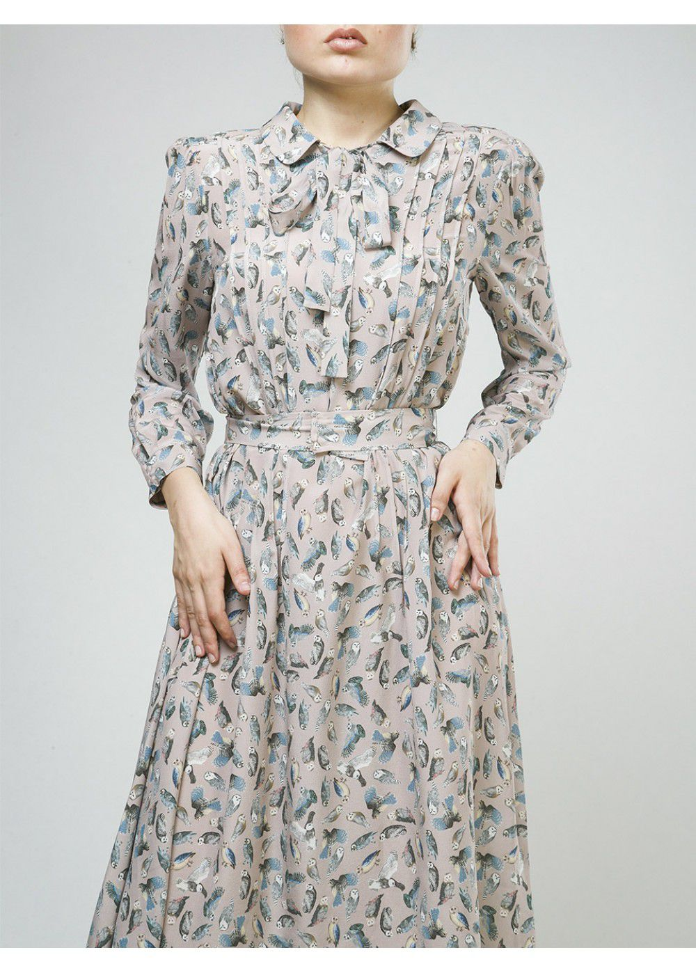 Alena Akhmadullina Own Print Dress in Pink