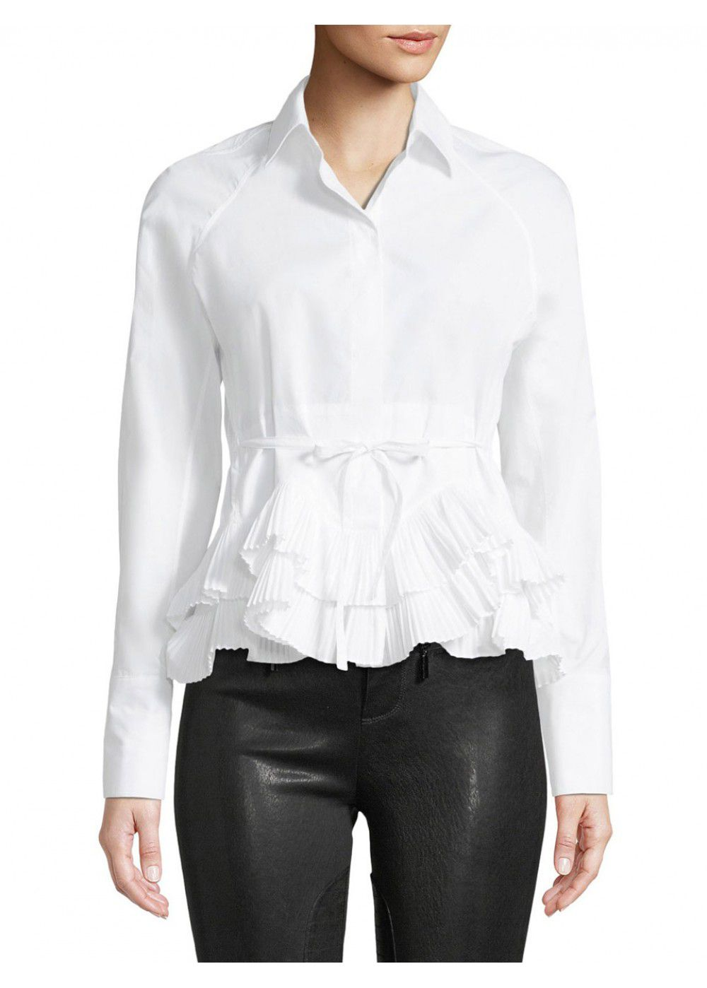 Alexis Winton Pleated Shirt