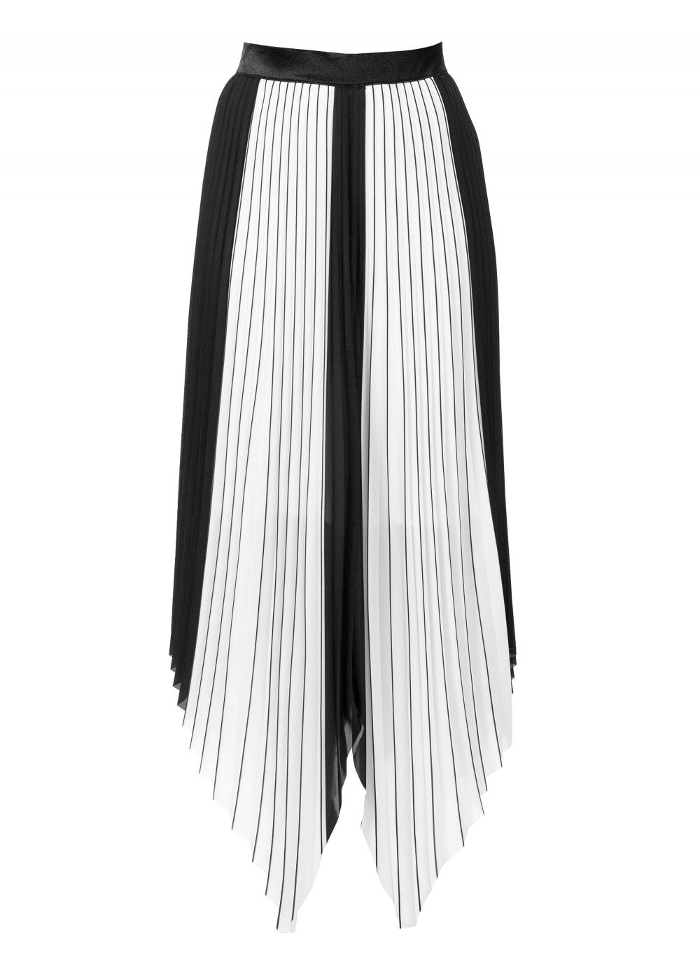 AQ/AQ Bodhi Pleated Midi Skirt