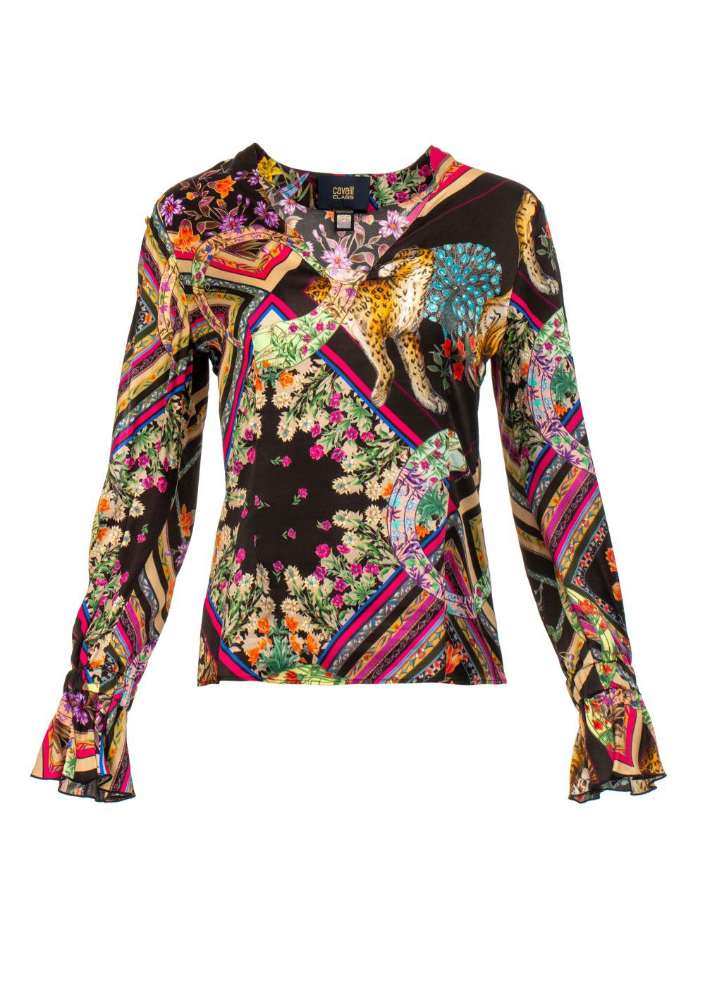 Roberto Cavalli Multicoloured Top