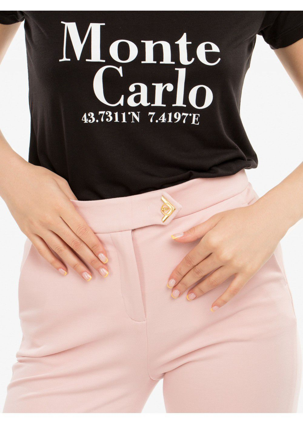 Roberto Cavalli Pink Trousers
