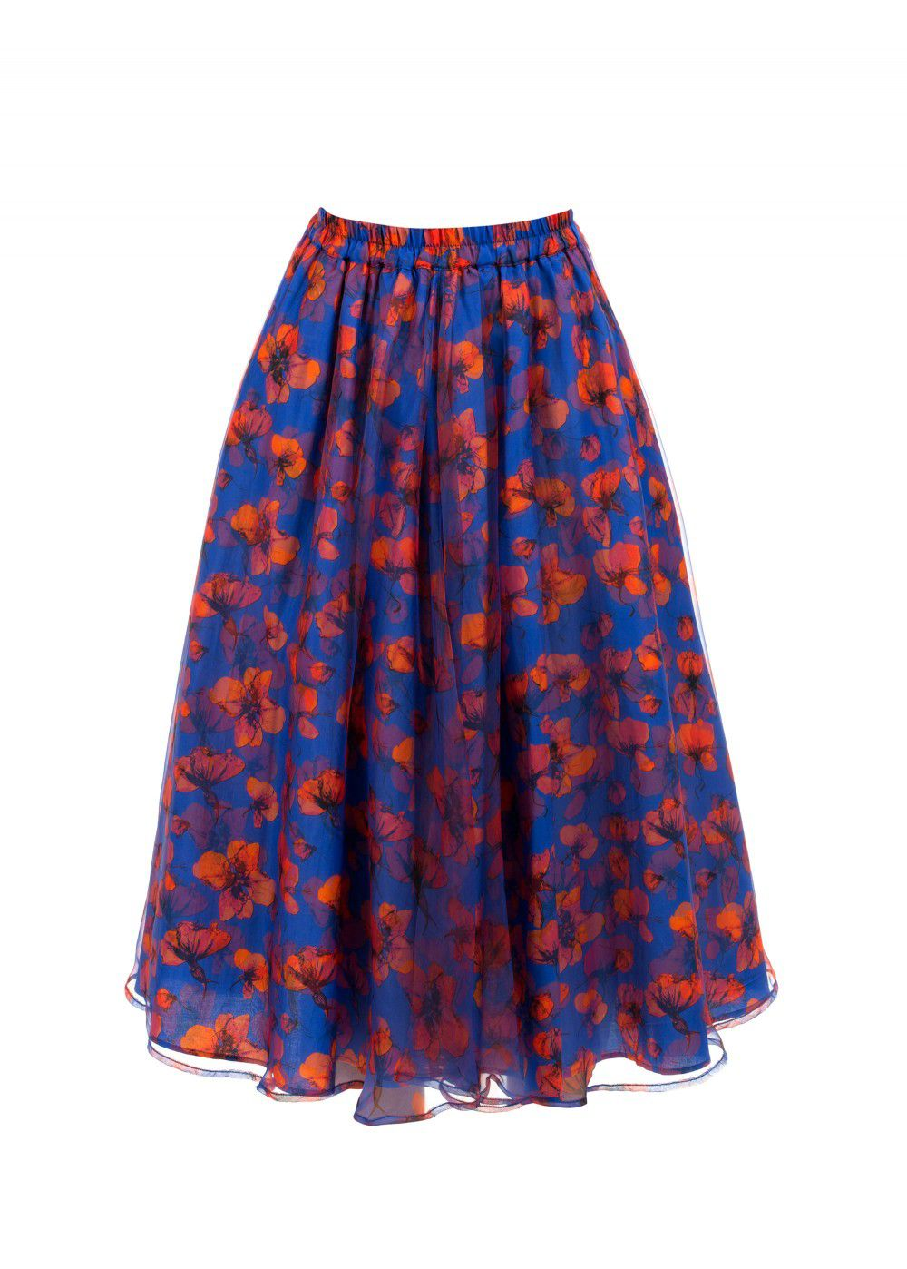Dhruv Kapoor Blue Skirt