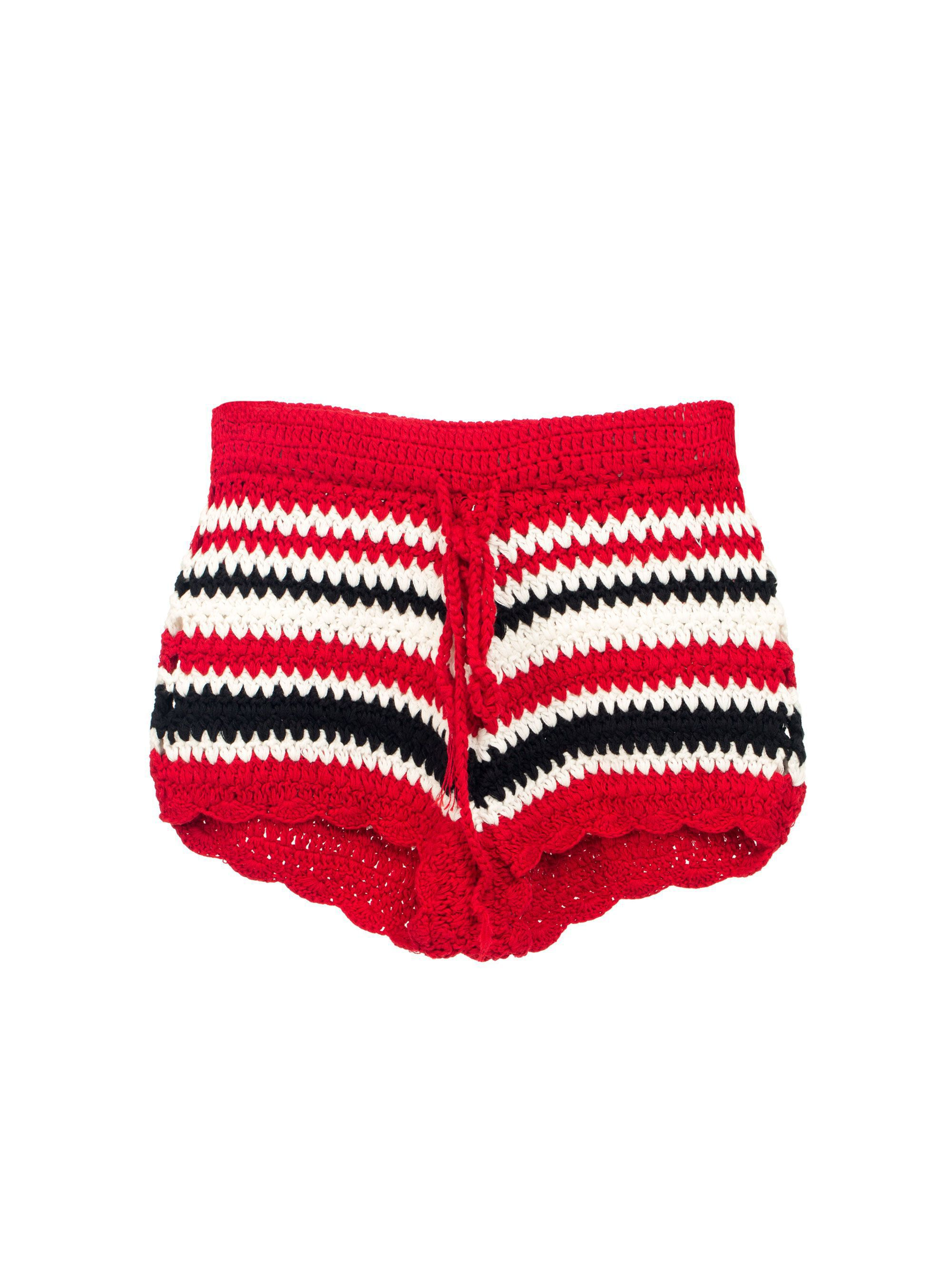 Echo 77 Bali Red Shorts