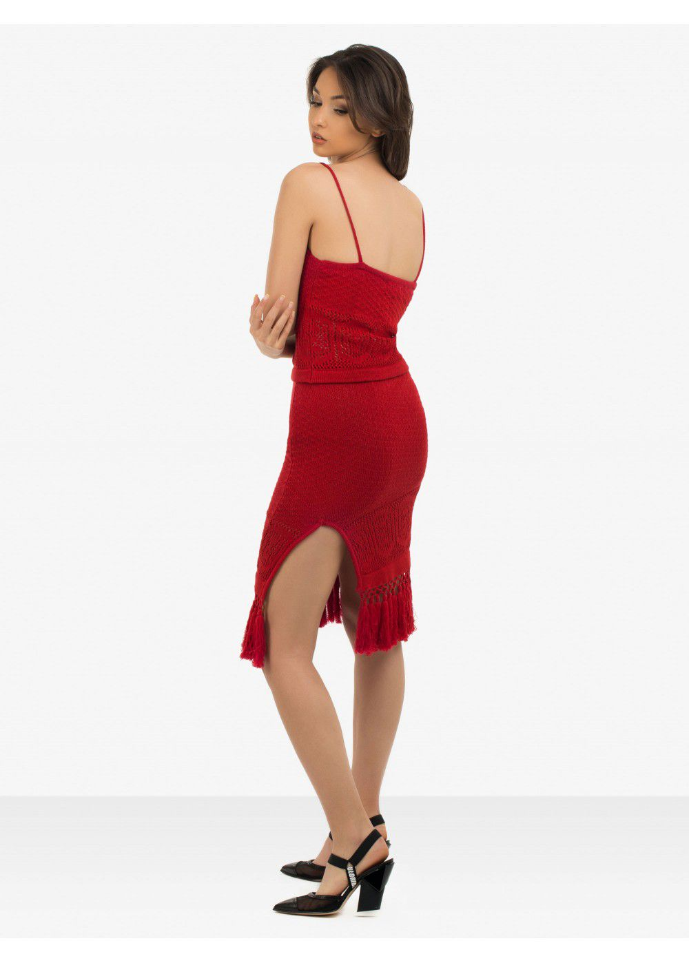 Echo 77 Bali Paradise Red Skirt