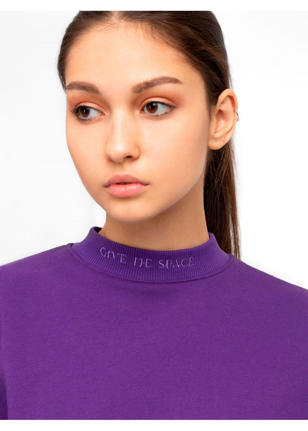 Give Me Space Purple Sweatshirt