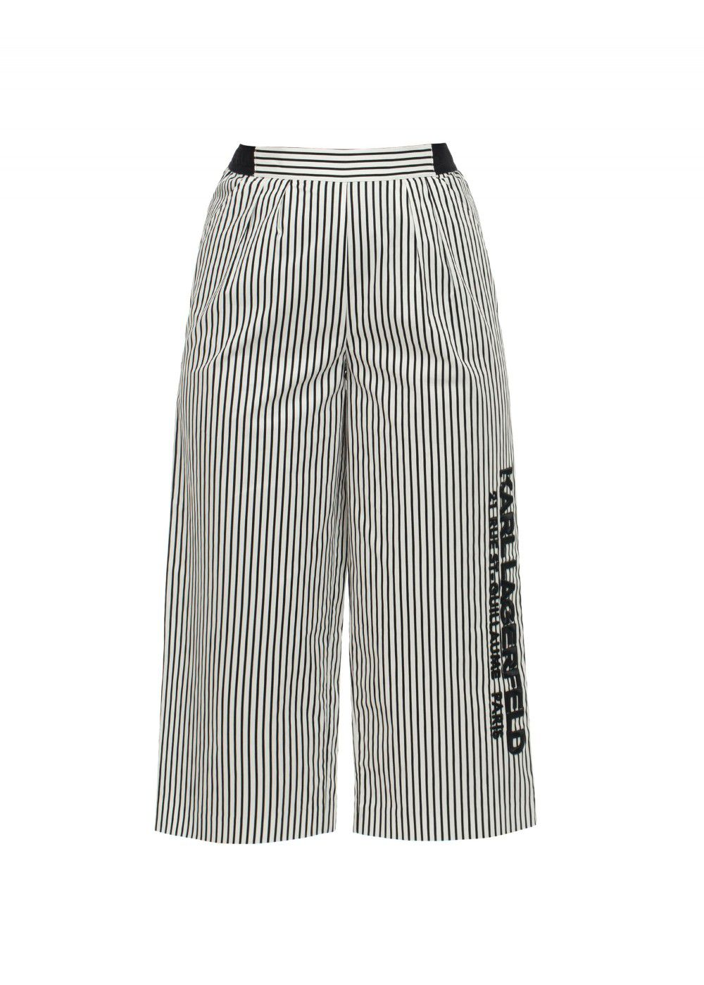 Karl Lagerfeld Cotton Trousers