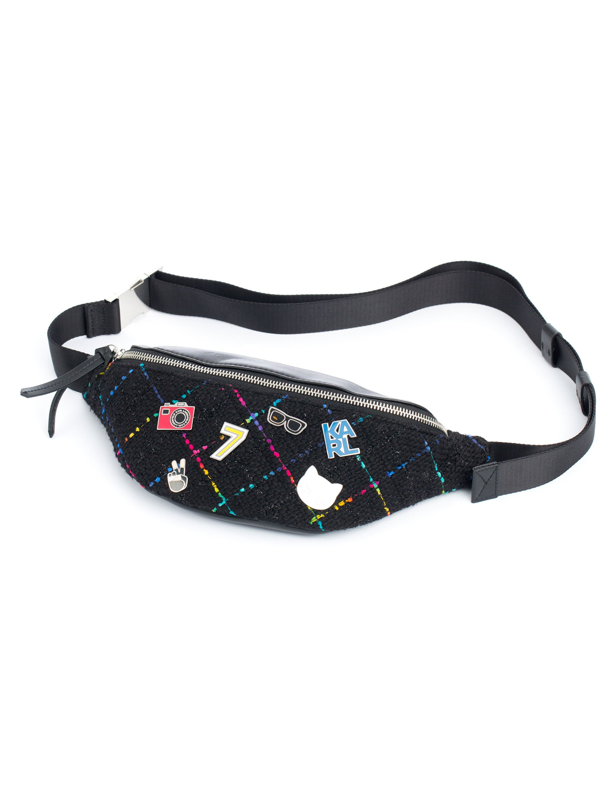 Karl Lagerfeld K/Studio Waist Bag with Appliques