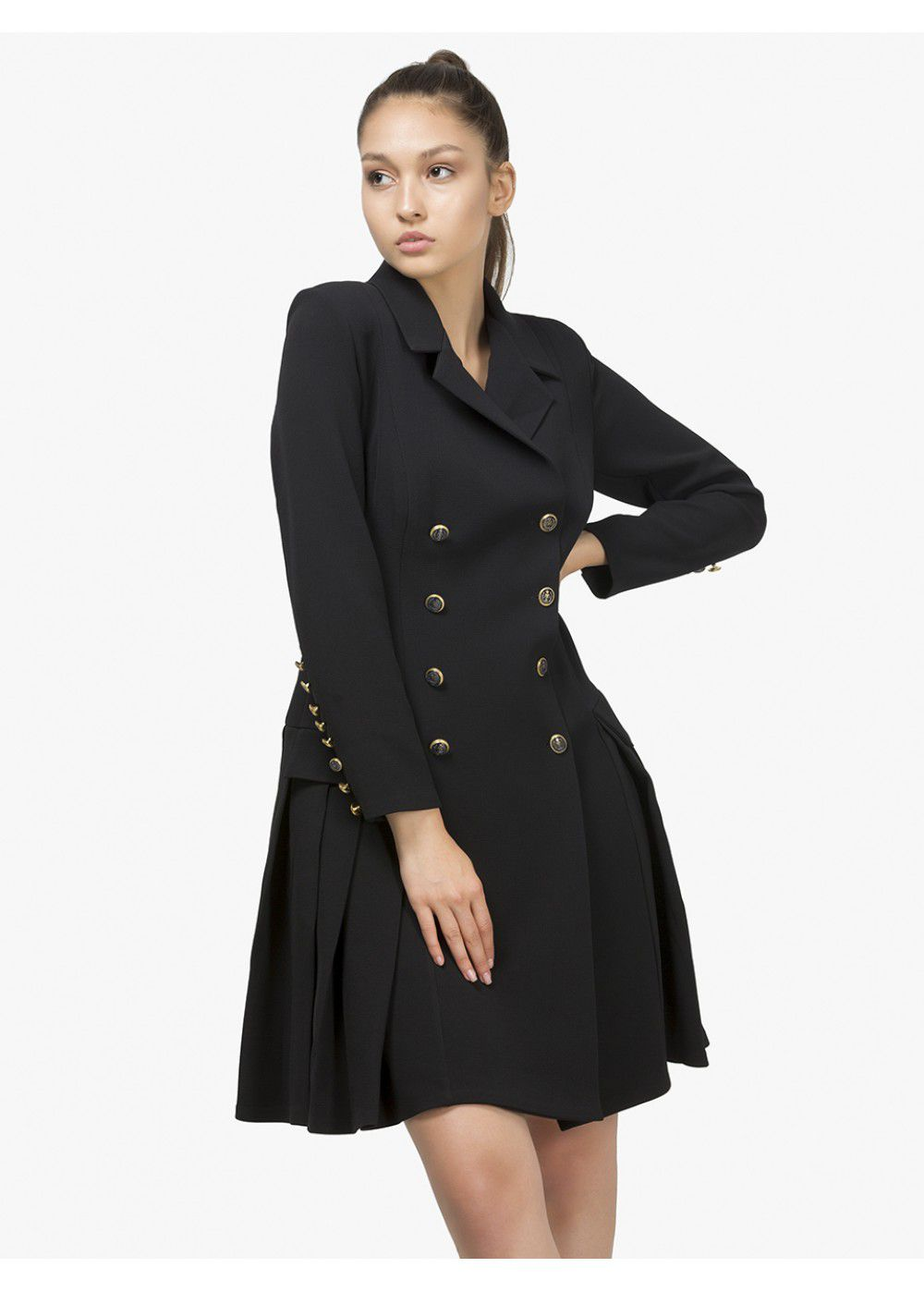 Maleone Dress Jacket Black Short
