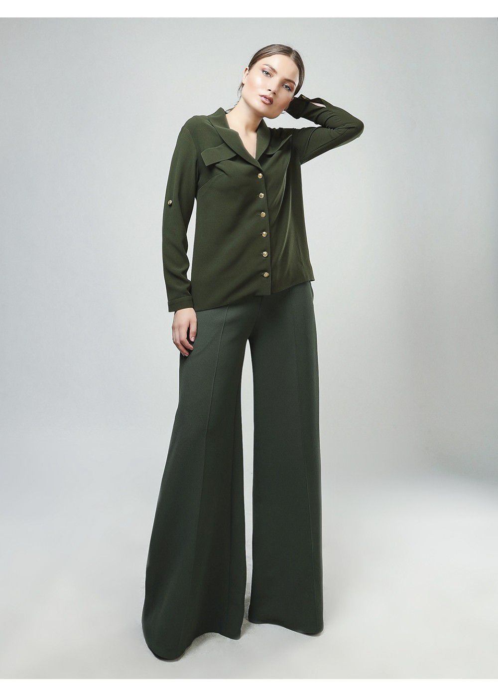Maleone Pants in Khaki