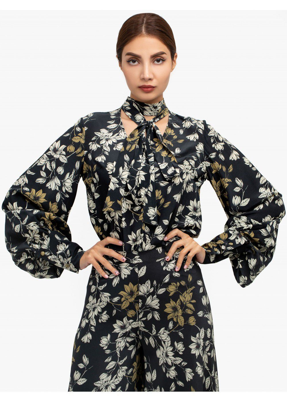 Maleone Floral Blouse