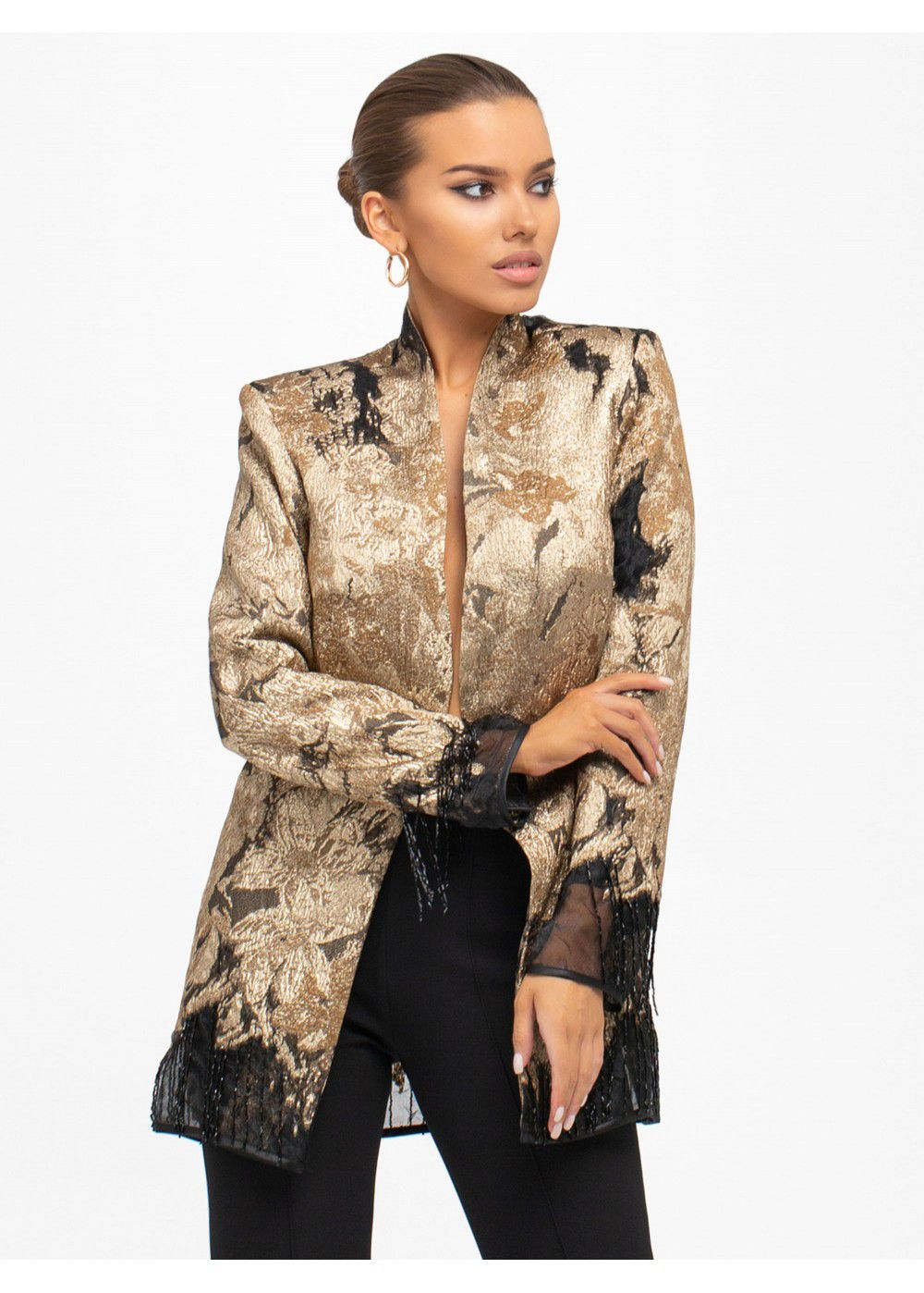 Maleone Gold Jacket with Bugle