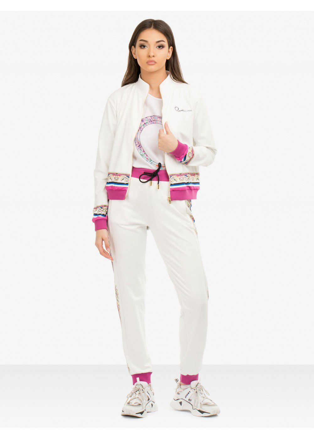 Roberto Cavalli White Trousers