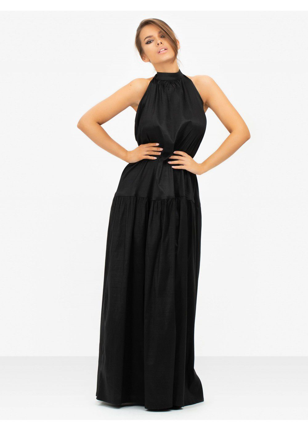 Masterpiece Black Maxi Tunic