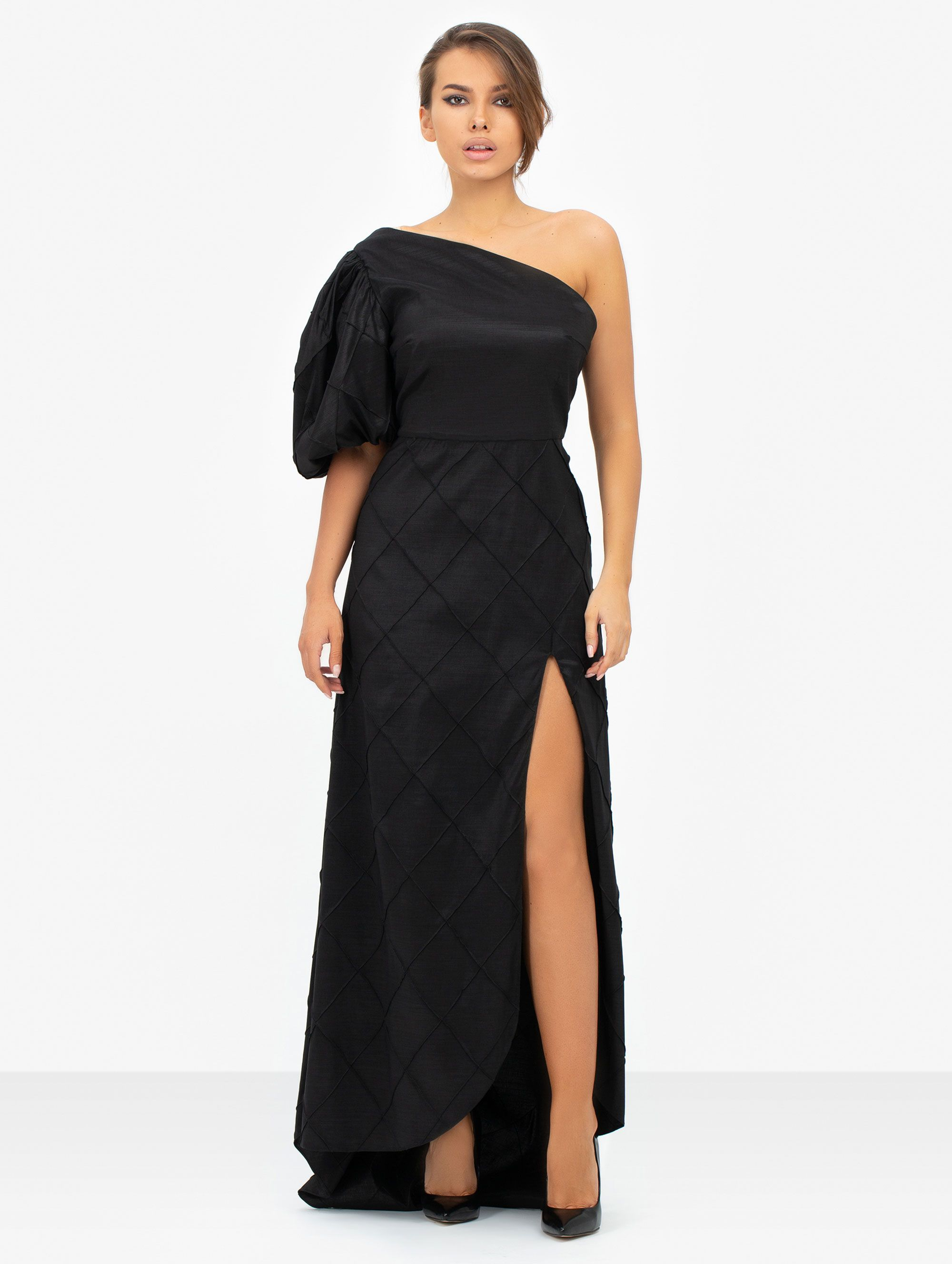 Masterpiece Black Cut Dress