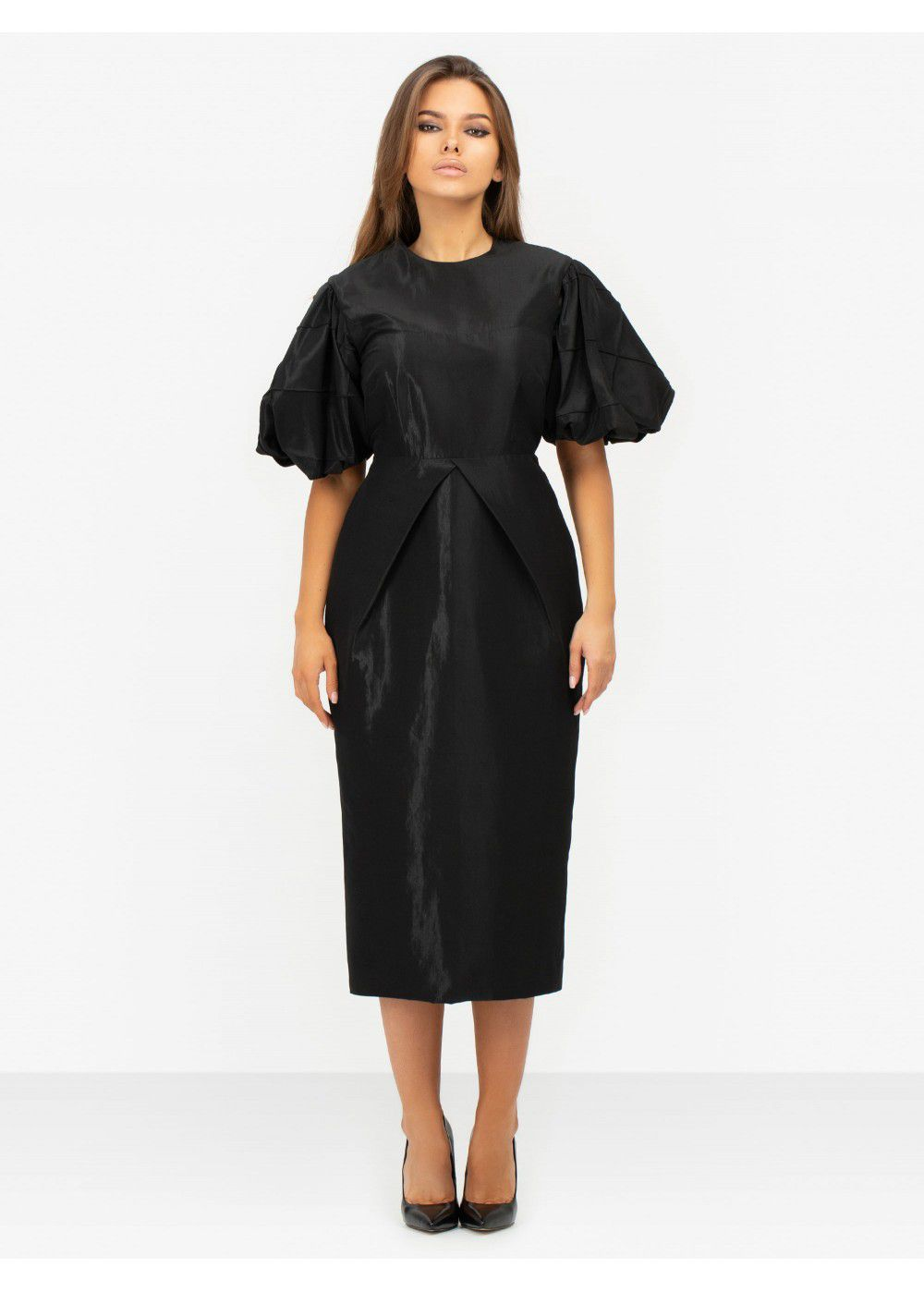 Masterpeace Black Midi Dress