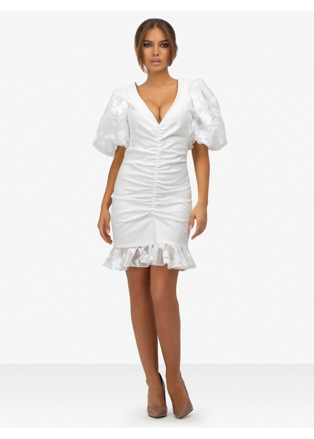Masterpeace White Mini Dress