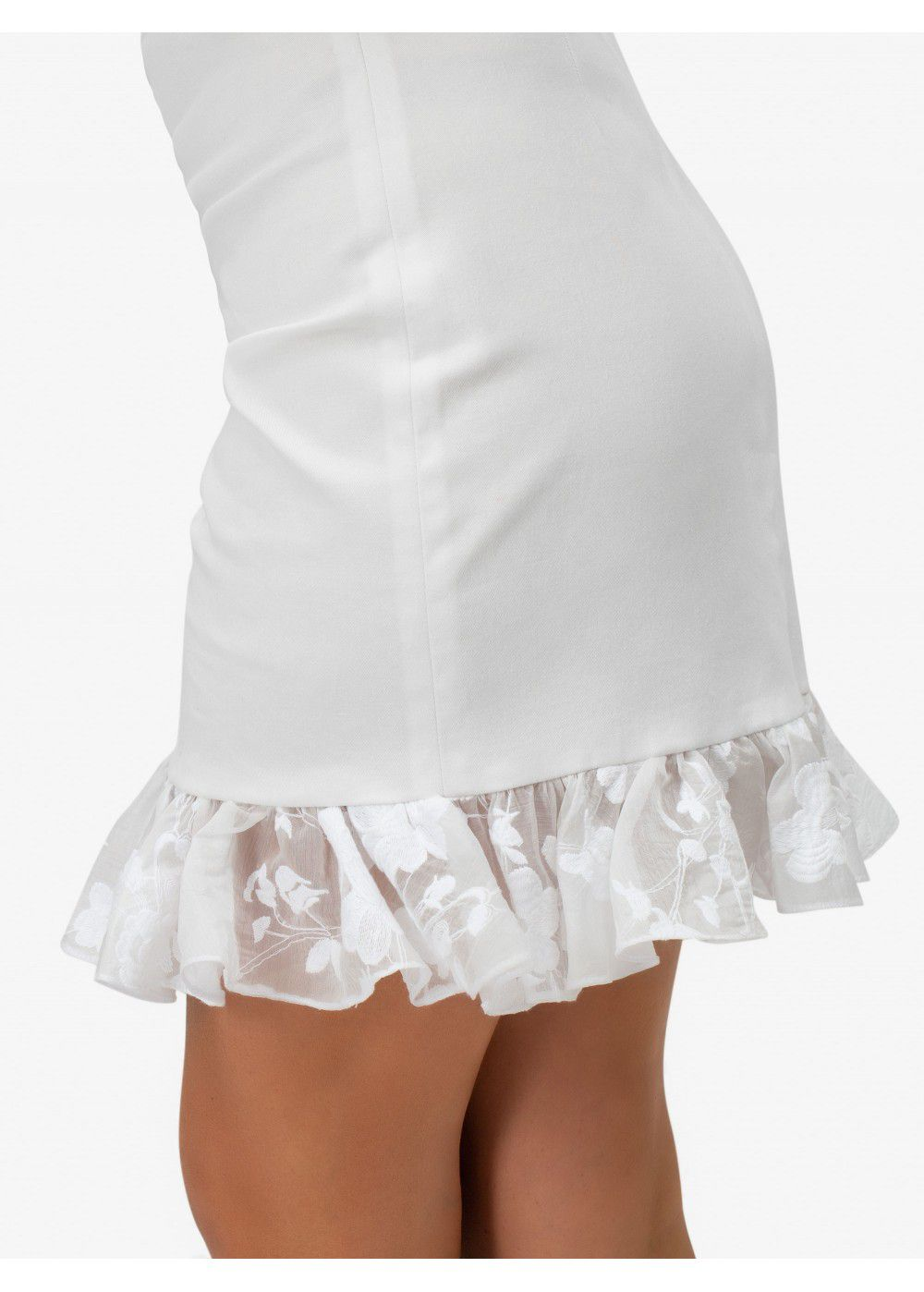 Masterpiece White Mini Dress