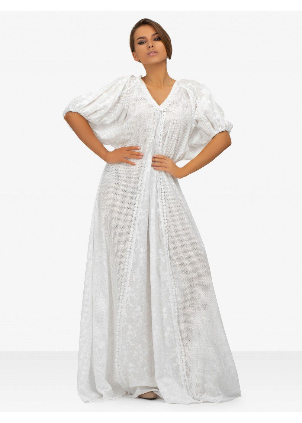 Masterpeace White Maxi Dress