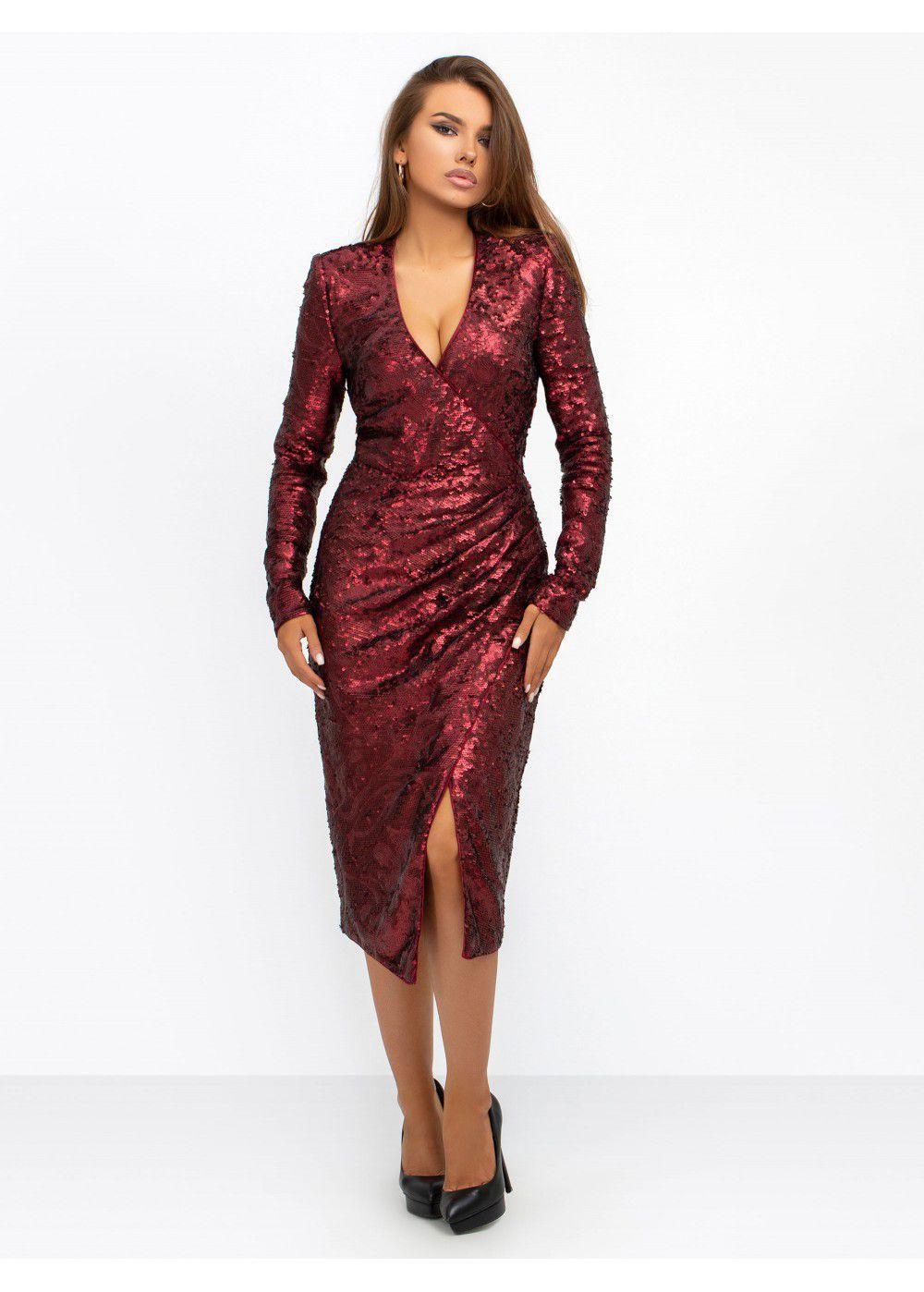 Misha Collection Neaky Sequin Dress