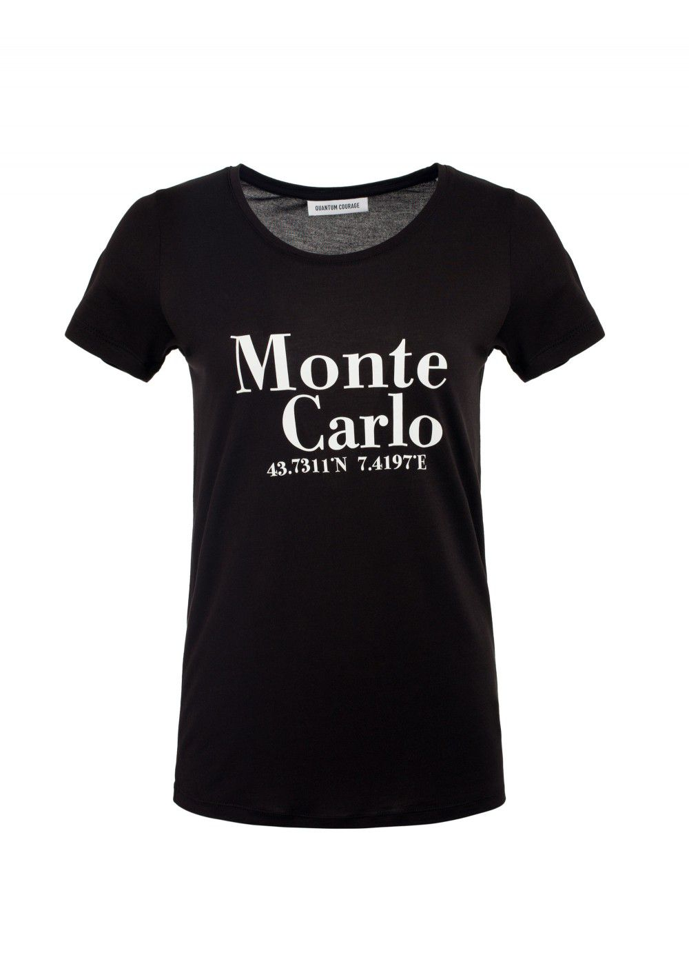 Quantum Courage Monte Carlo T-Shirt