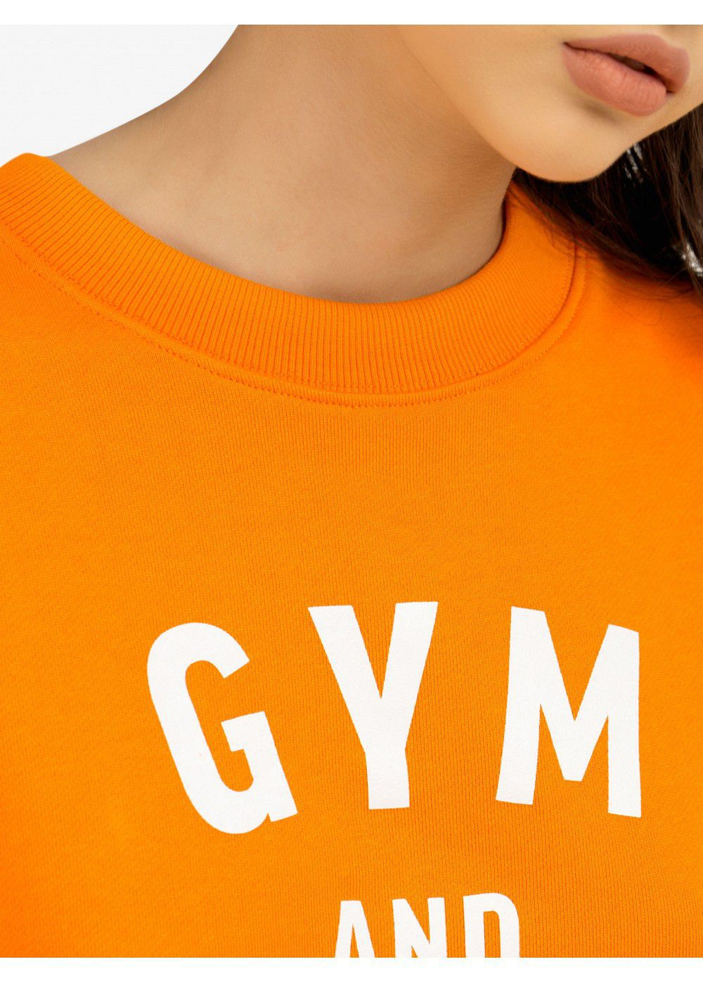 Quantum Courage Gym and Tonic Cropped Sweatshirt