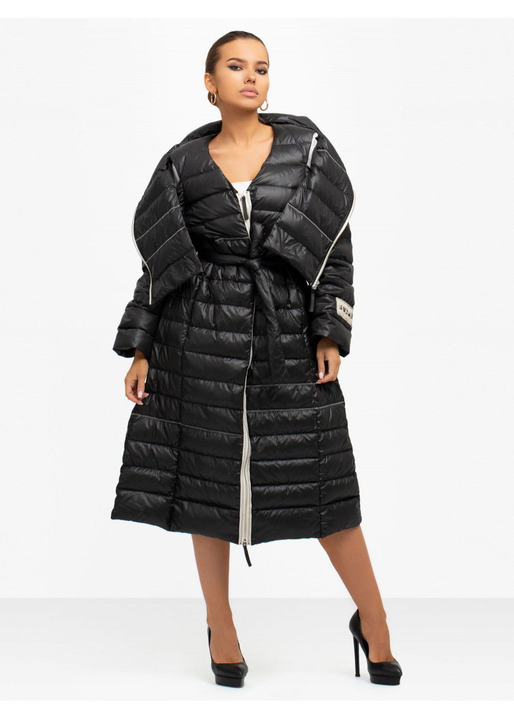 Ruban Midi Down Jacket