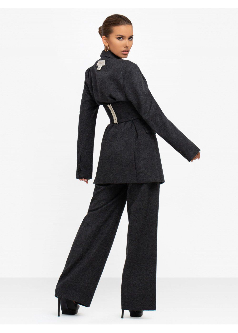 Ruban Wide Leg Trousers
