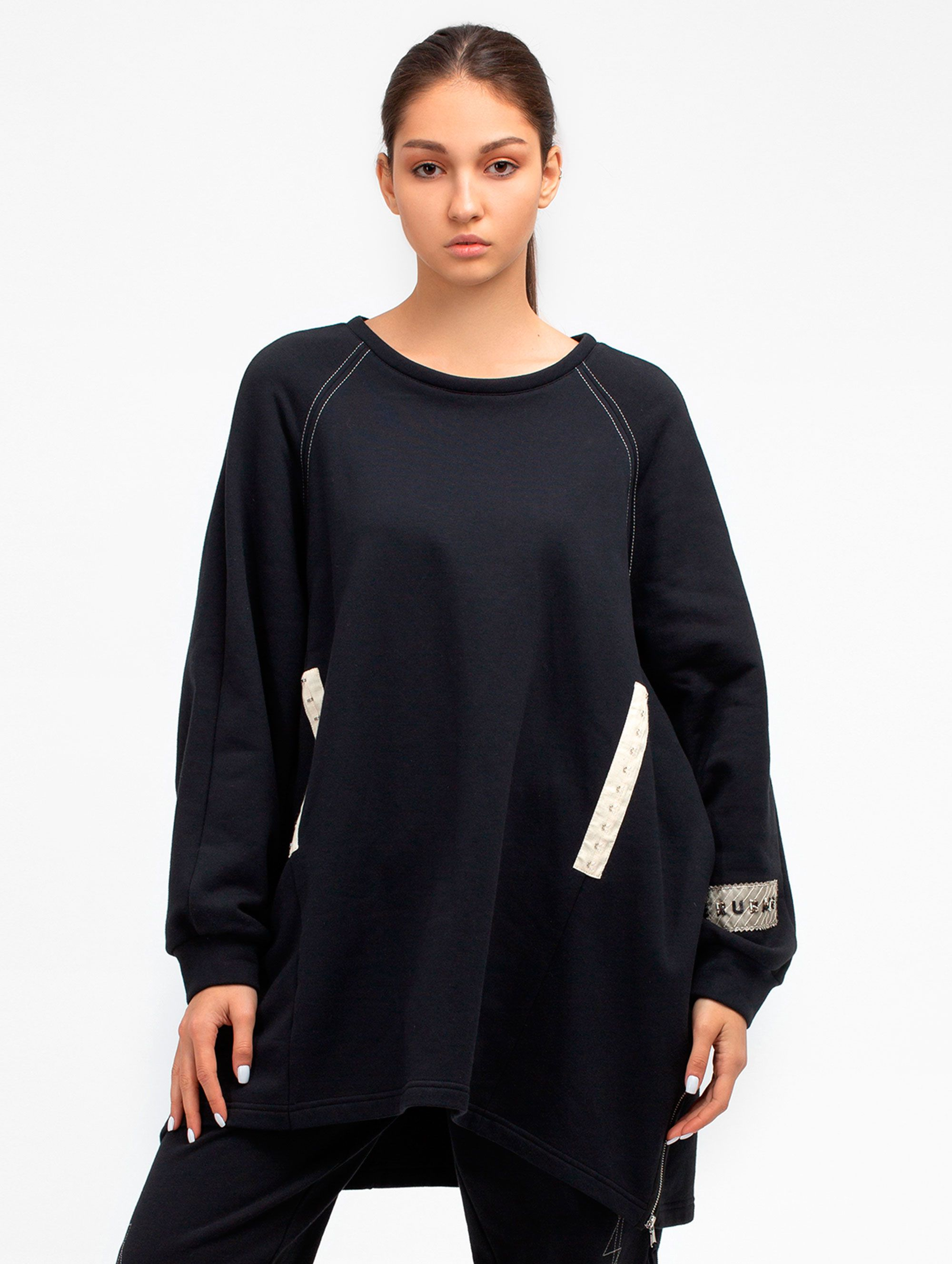 Ruban Knitted Sweatshirt