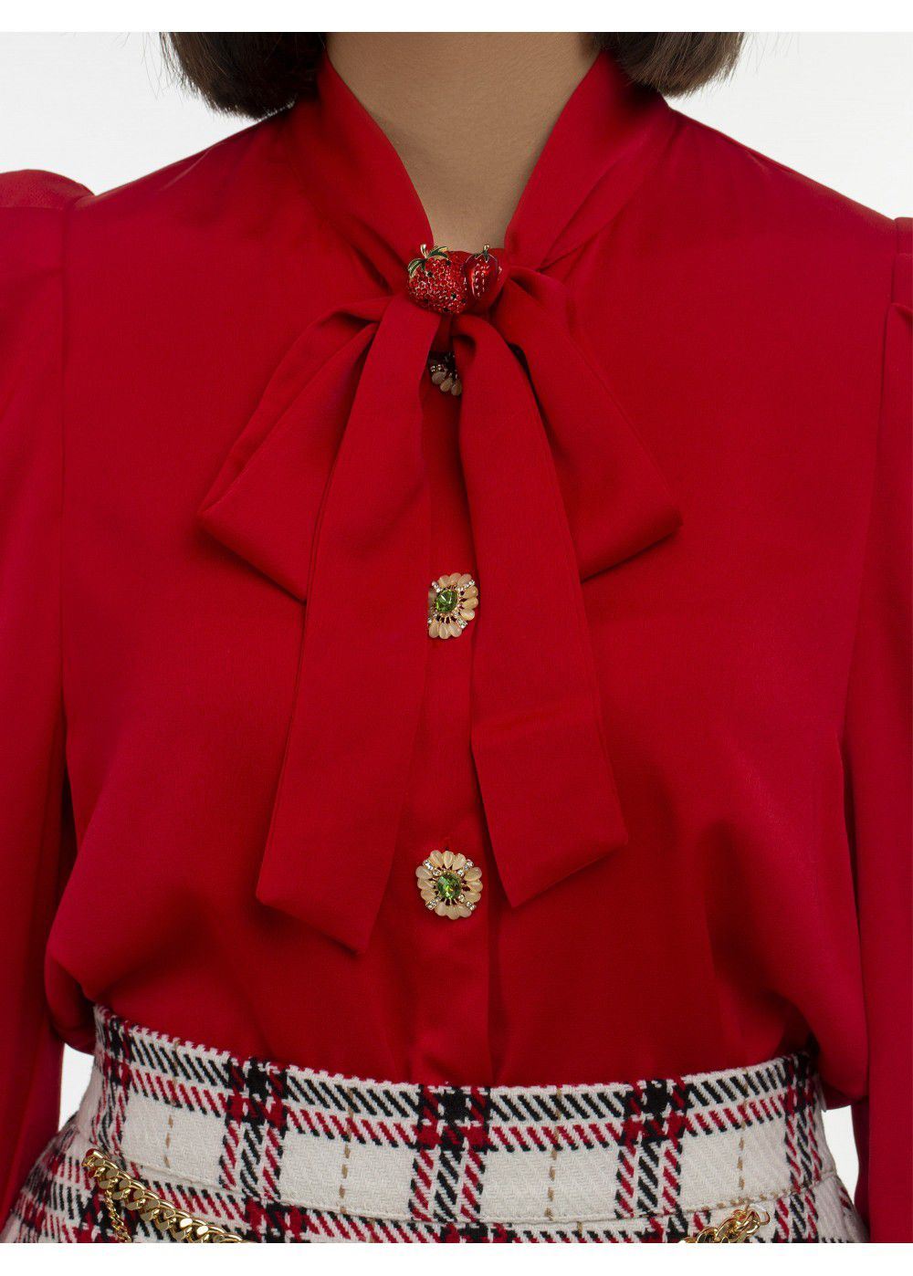 Sister Jane Red Blouse