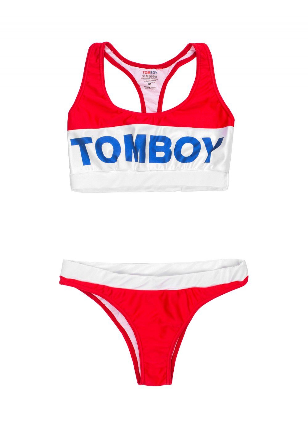 Tomboy Miami Red Bikini Set