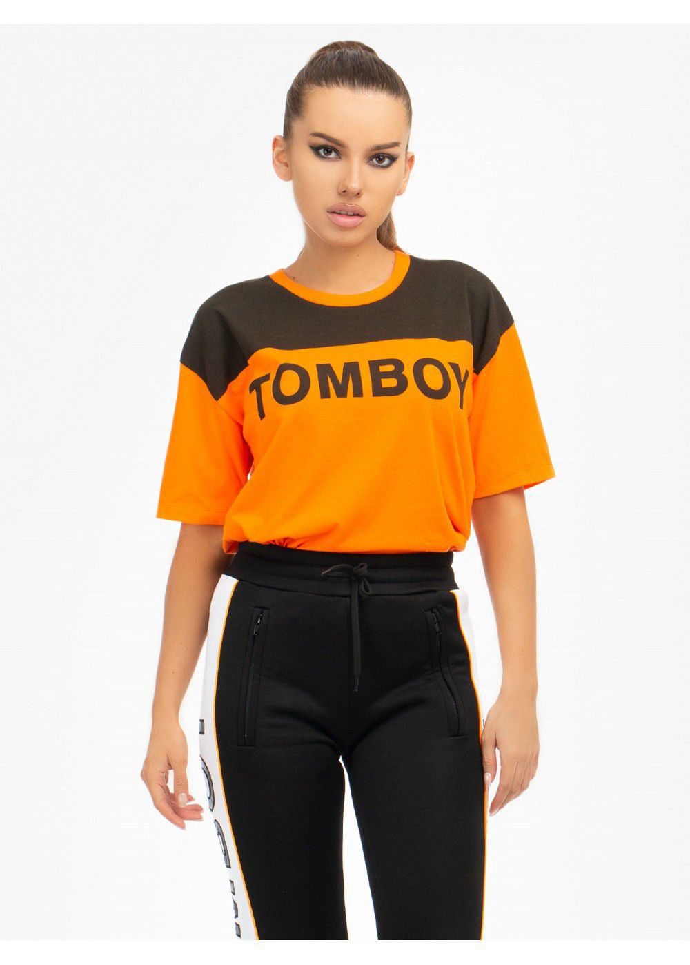 Tomboy T-Shirt in Neon Orange