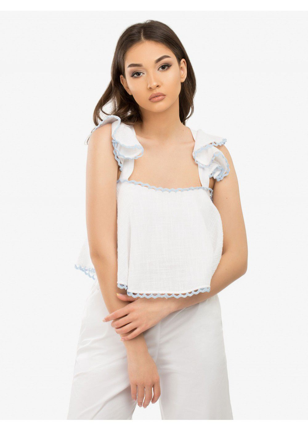 Zayan The Label Lana Top White