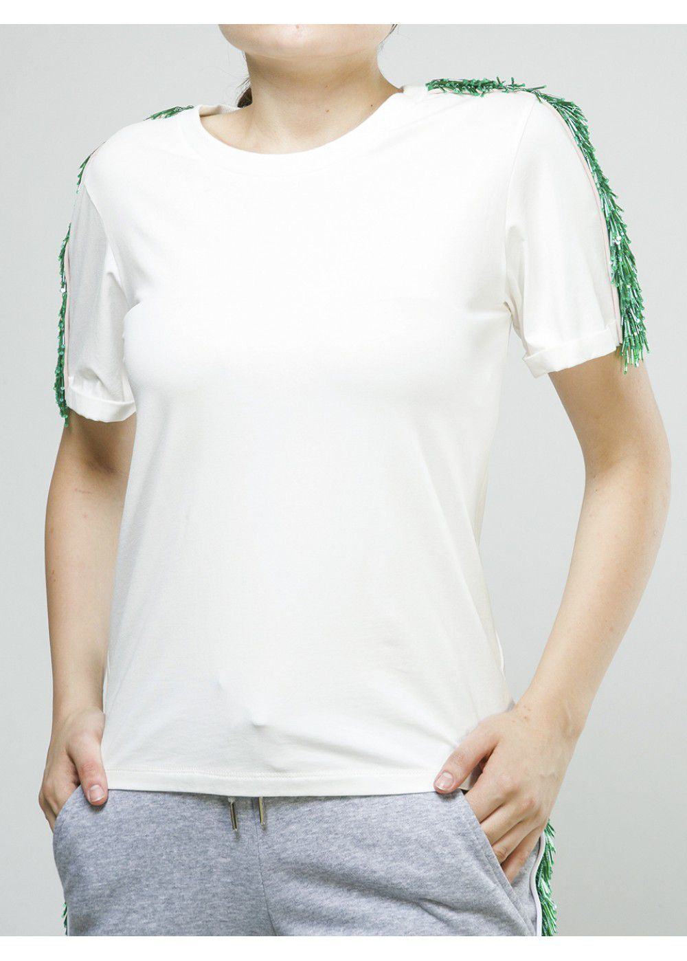 Zayan The Label Blake T-Shirt in White