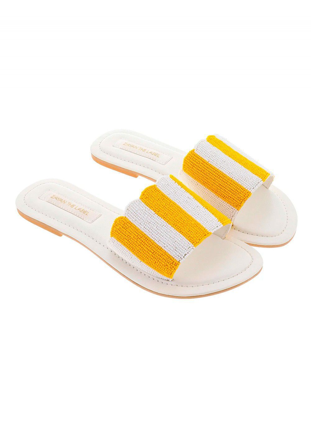 Zayan The Label Positano Yellow Slides