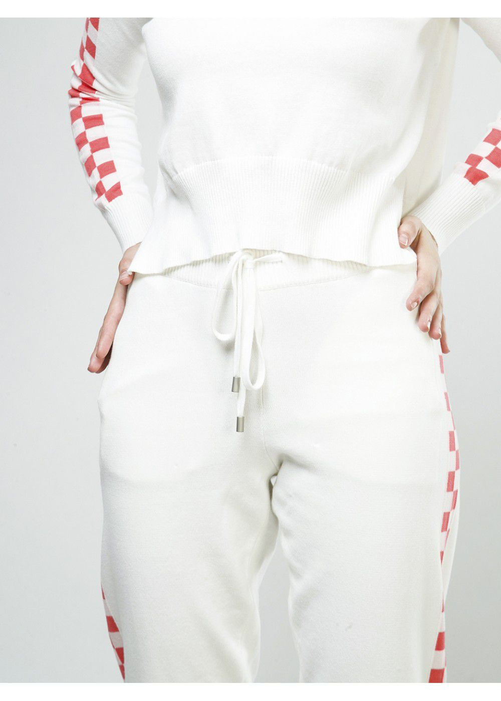 Zoe Jordan Jover Pants in White