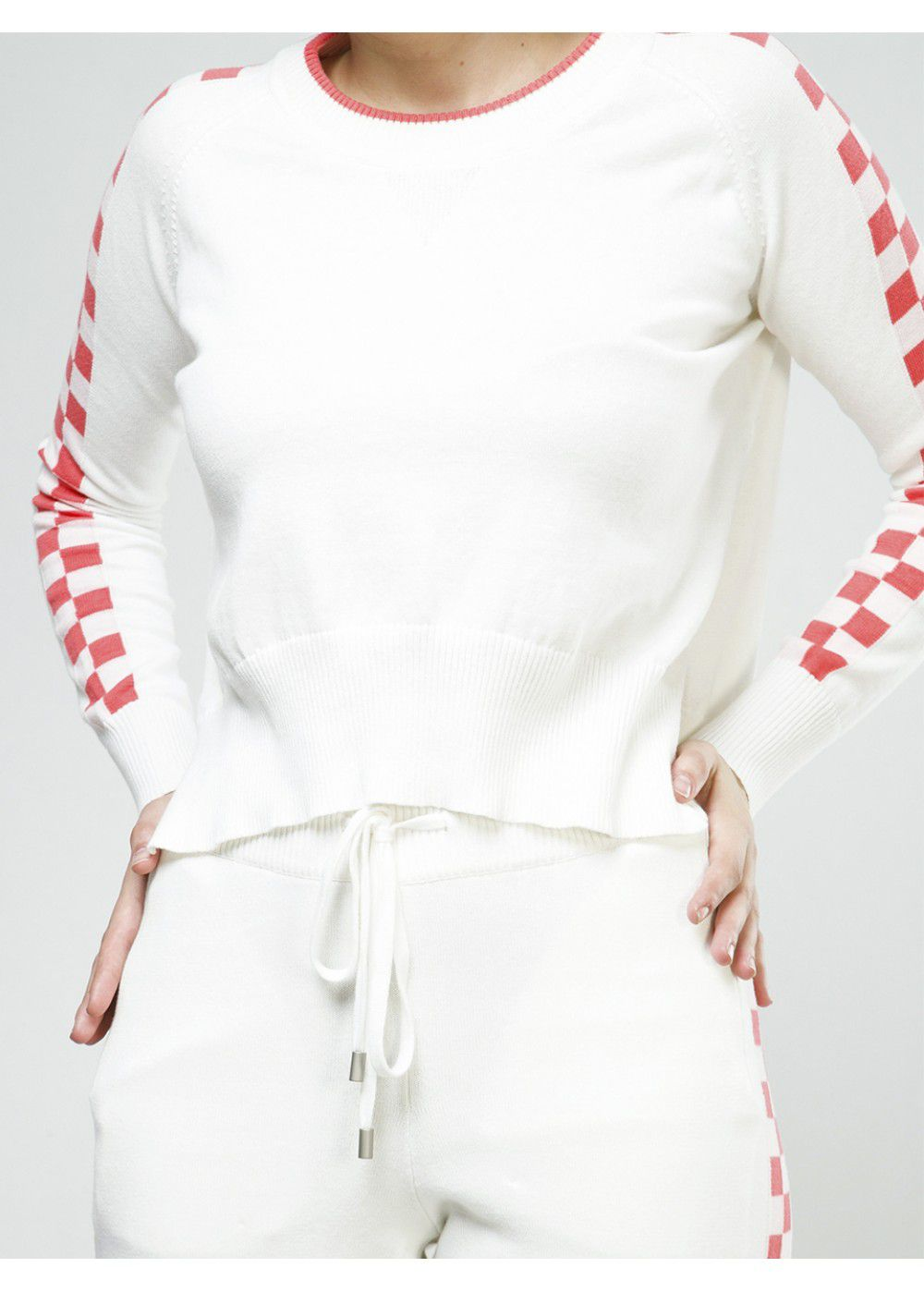Zoe Jordan Bruni Sweater in White