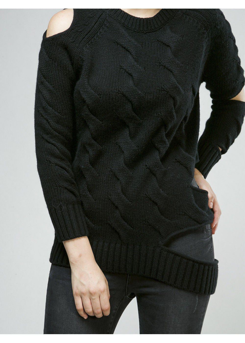 Zoe Jordan Black Sweater